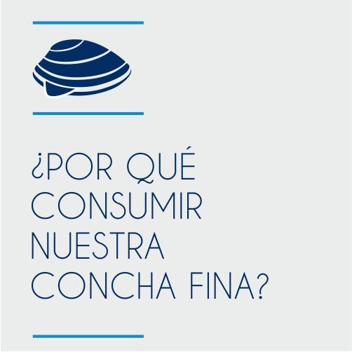¿Porqué consumir nuestra Concha Fina?